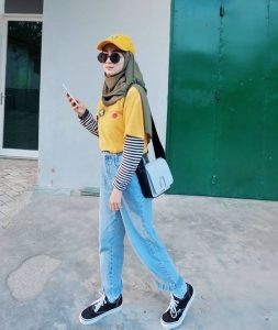 Casual hijab style ideas