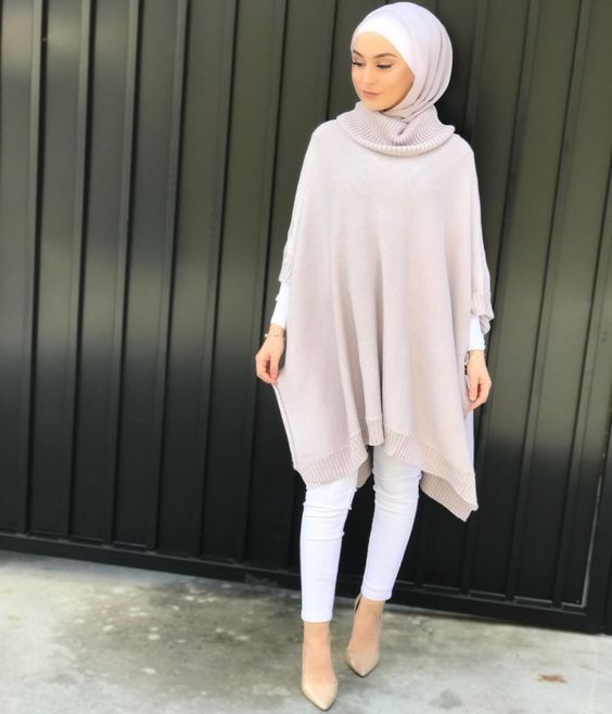 Hijab outfit in pastel