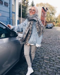 How to Style Hijab Outfit For Winter On This Season