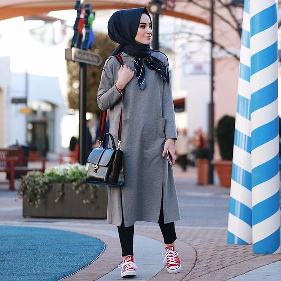 Long tunic hijab