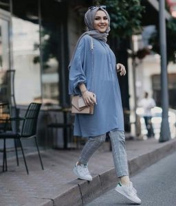 Long tunic outfit