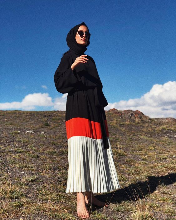 Pleated Skirt Hijab