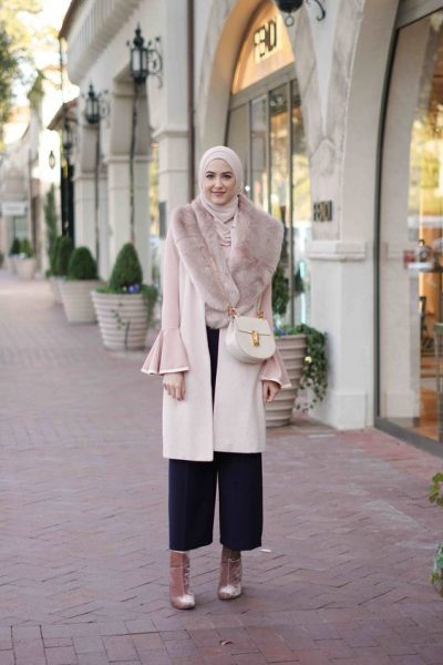 Winter style for hijab via withloveleena