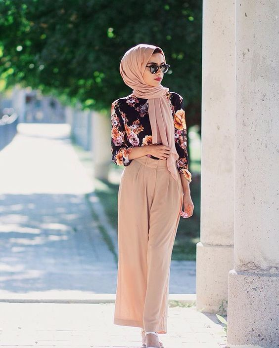 hijab color nude