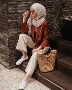 hijab fashion nude