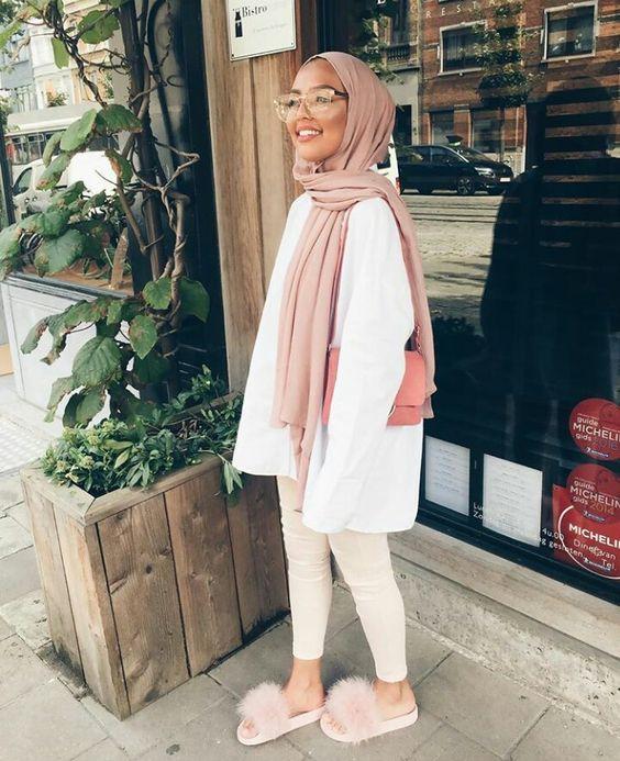 hijab nude style