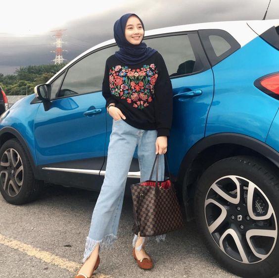 Boho hijab looks