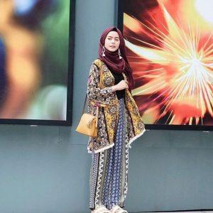 Boho style hijab