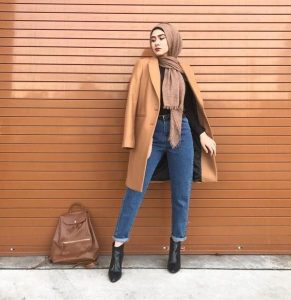 Coat Hijab STyle
