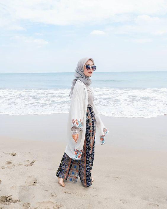 Hijabi beachwear