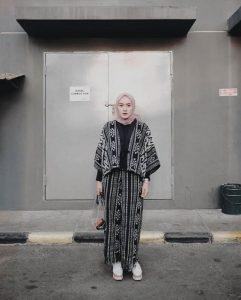 boho hijab style