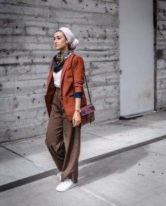 boho style ideas with hijab