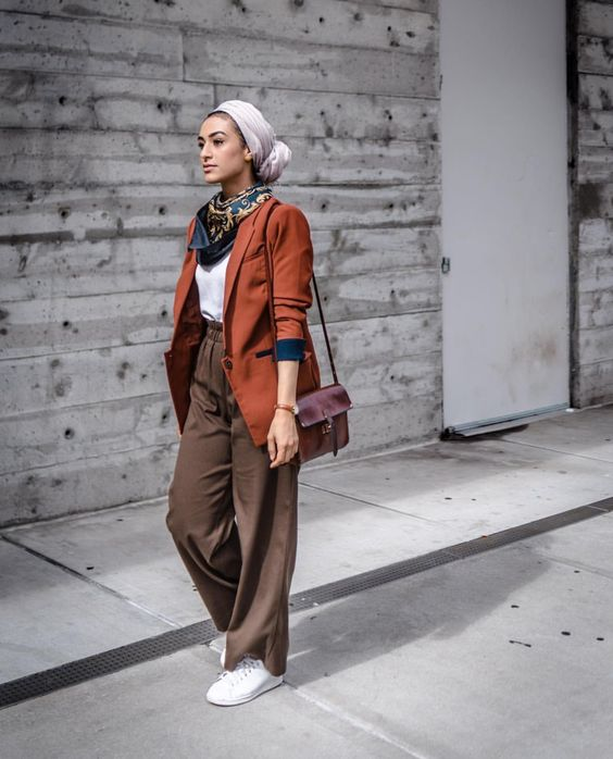 boho style ideas with hijab