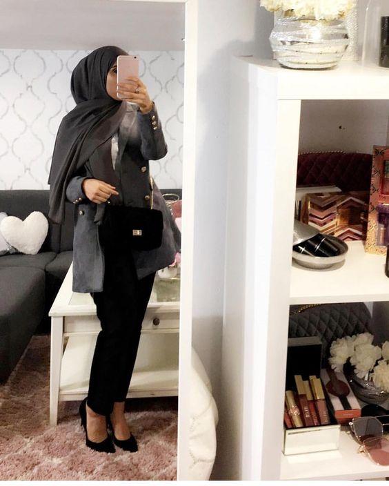 hijab office style