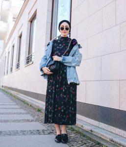 hijab outfit boho