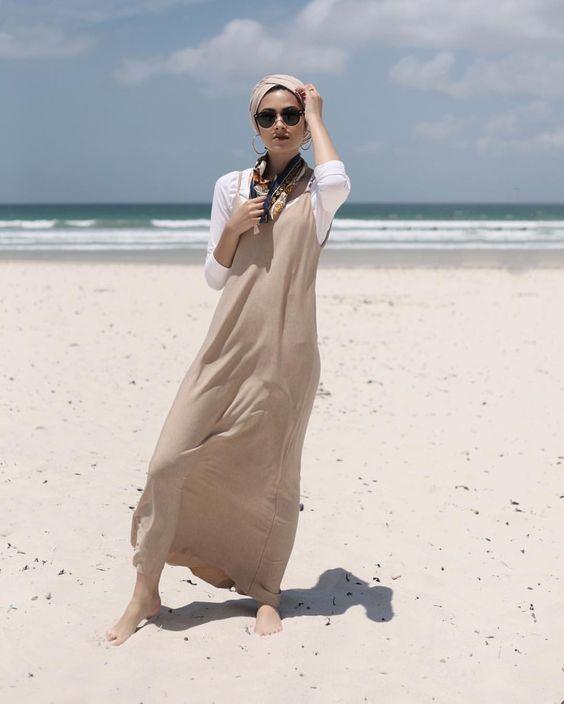 hijab outfit boho looks
