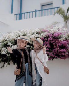 hijab outfit boho style