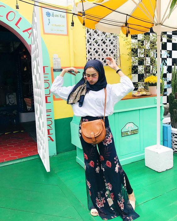 hijab outfit boho style ideas