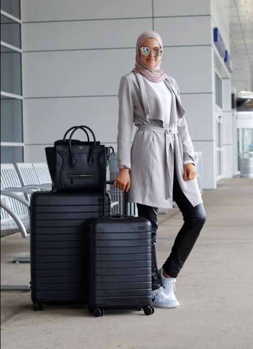hijab style airport