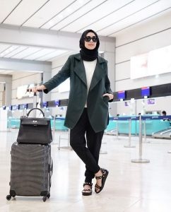 style ideas for hijab travel