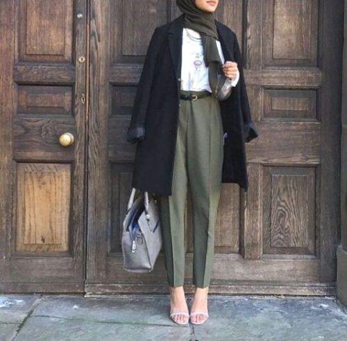 c48707737ac Stylish Hijab Work Wear Outfit Ideas - Hijab-style.com