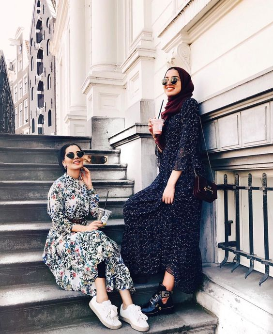 2019 Spring Hijab Outfit Ideas