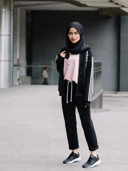 Cute Hijab Sporty Outfits