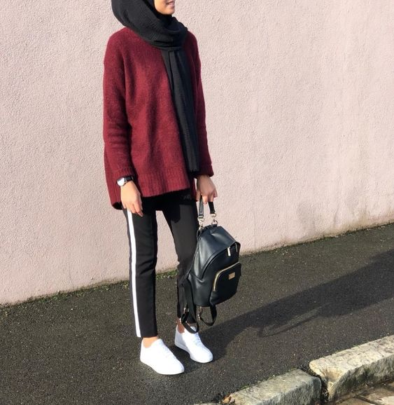 hijab sporty outfit