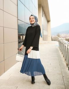 How To Style Hijab Looks With Your Favorite Ankle Boots
