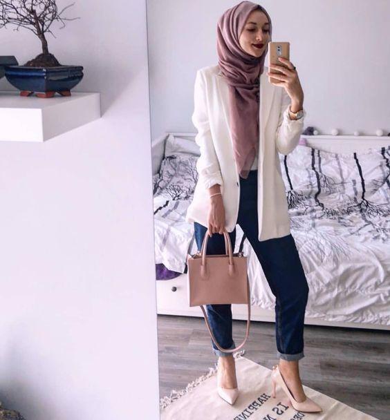 Style hijab Blazer