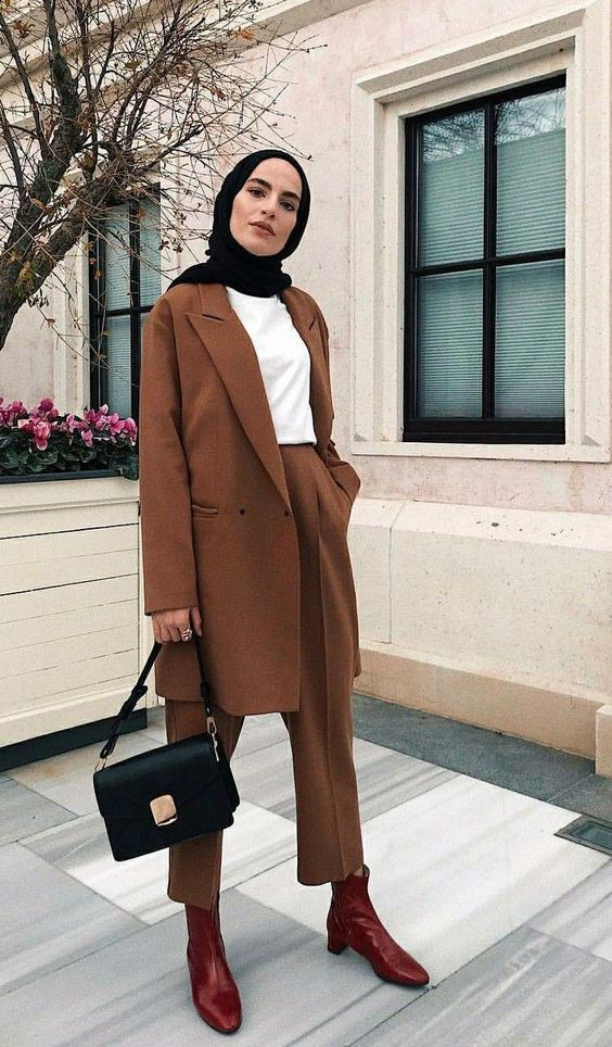 ankle boots for hijabis