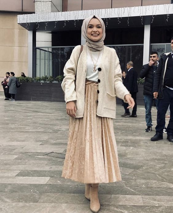 ankle boots style ideas hijab