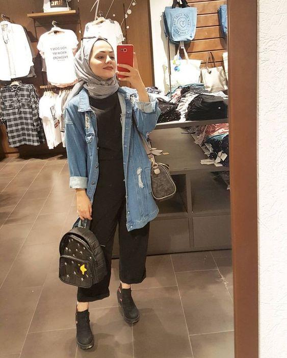 denim jacket for hijab