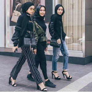 friendship hijab street style