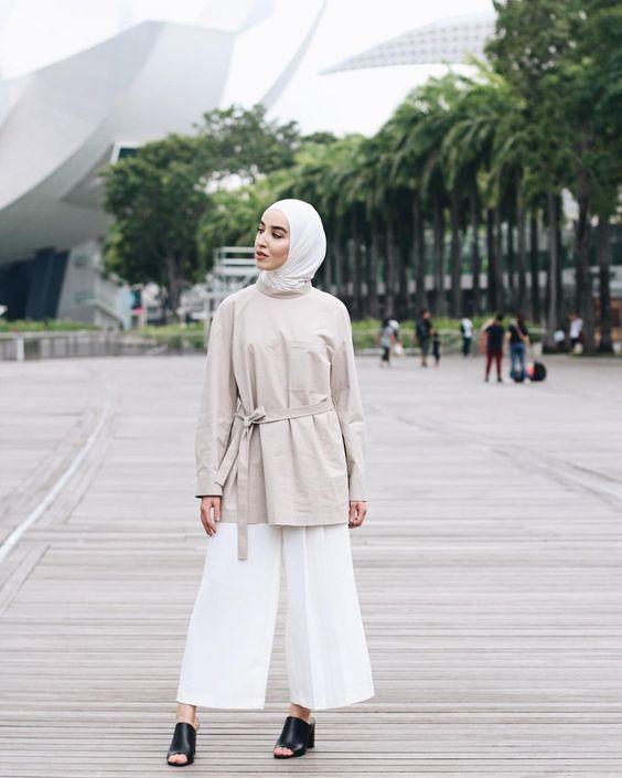 hijab scarf white