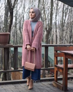 style ankle boots with hijab