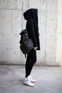 via Black Girl hijab fashion