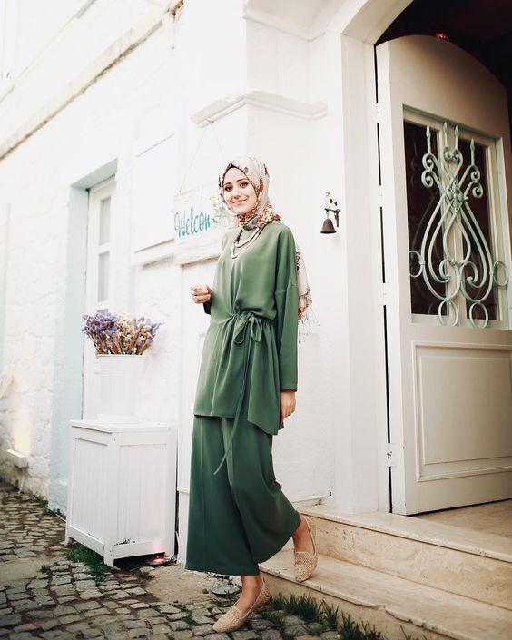 Tunic Set Style hijab