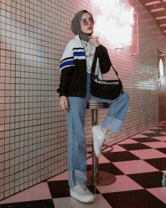 denim pants for hijab
