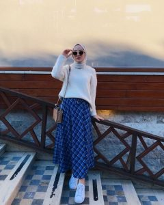 style ideas with long skirt