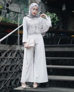 Wedding Guest outfit for hijabis