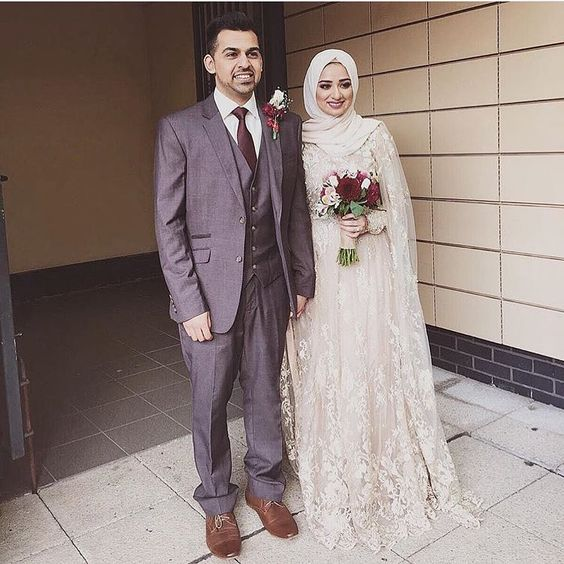 Hijab Bridal Dress