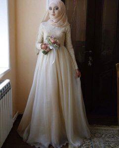 Hijab Bridal Gown