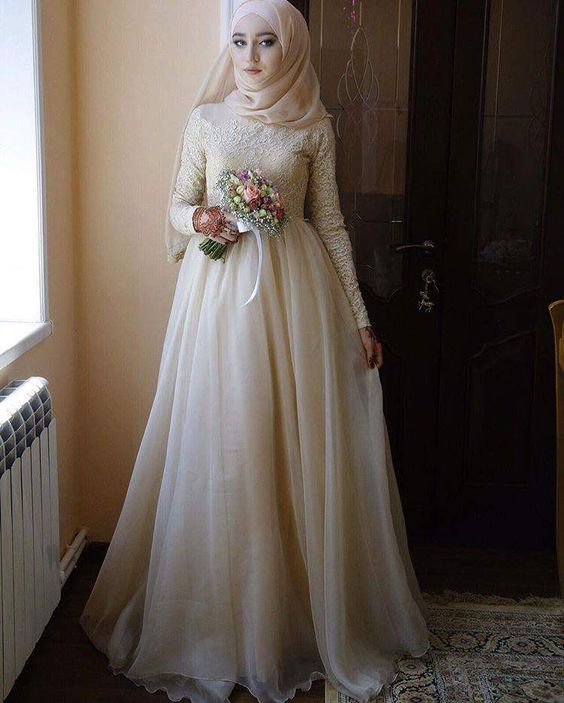 Hijab Bridal Gown