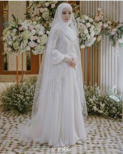 Hijab Bridal Look