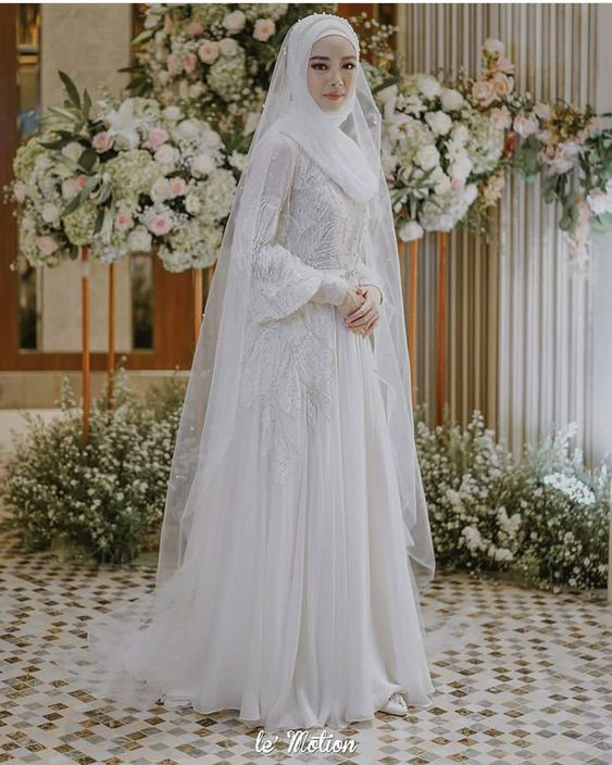 Hijab Bridal Look