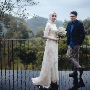 hijab gown for wedding