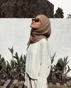 how to style crinkle pashmina