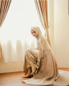 modern hijab wedding