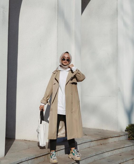 hijab coat style ideas